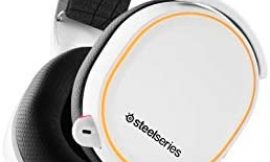 SteelSeries Arctis 5 – RGB Illuminated Gaming Headset with DTS Headphone:X v2.0 Surround – For PC and PlayStation 4 – White