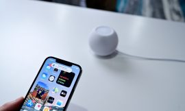 Testing the new HomePod mini music Handoff feature in iOS 14.4