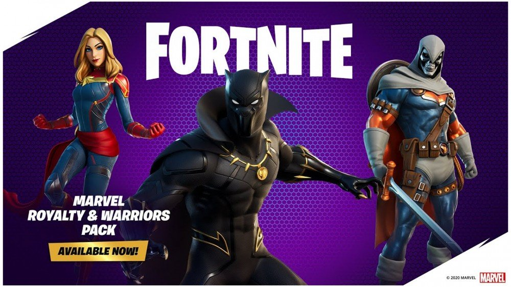 Black Panther and the Wakanda Forever Salute Are Now Available in 'Fortnite' – Review Geek