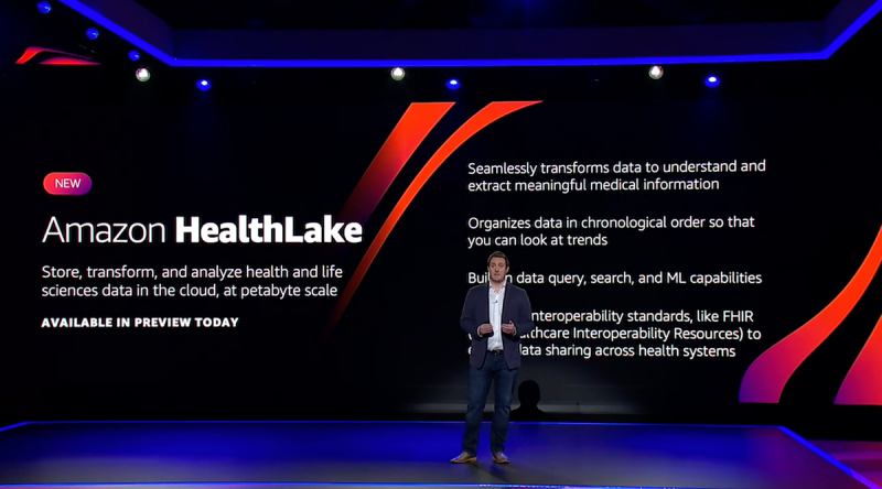 Amazon launches HealthLake, a platform for storing and analyzing health care data