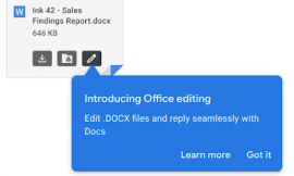 Editing Office documents in Gmail just got infinitely easier