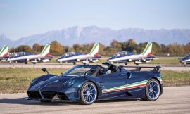 $6.7M Pagani Huayra Tricolore hypercar is a tribute to the Italian Air Force