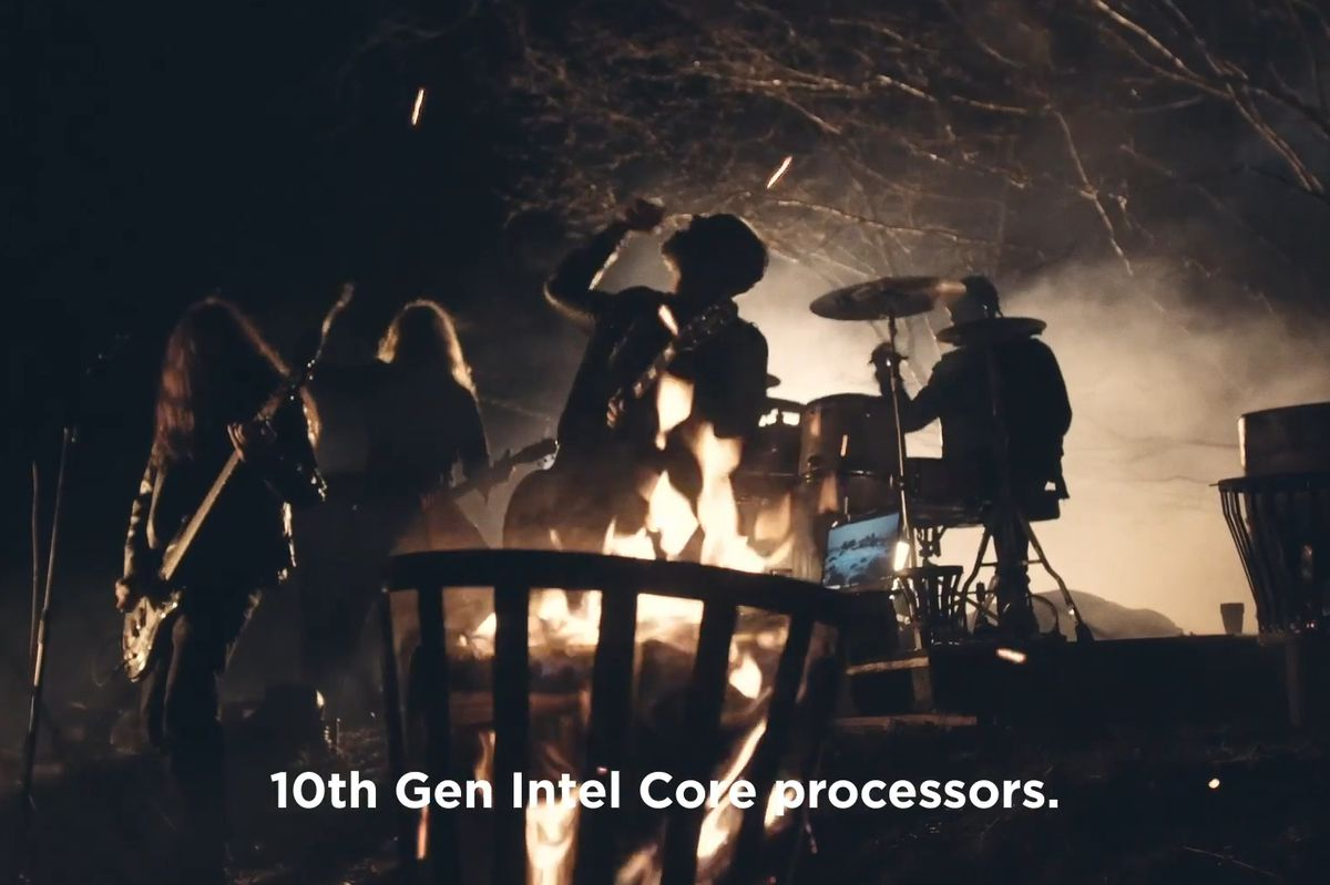 We gave this laptop a 7, then a Swedish metal band turned it up to 11