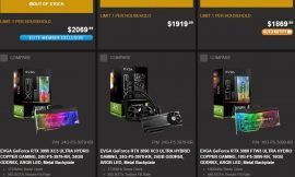 EVGA and Zotac join others in raising the price of their graphics cards