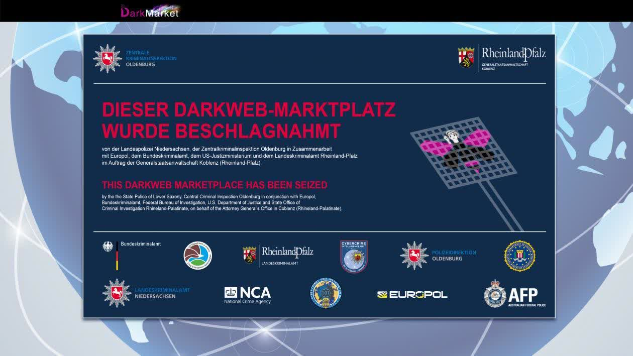 International operation brings down dark web's largest marketplace