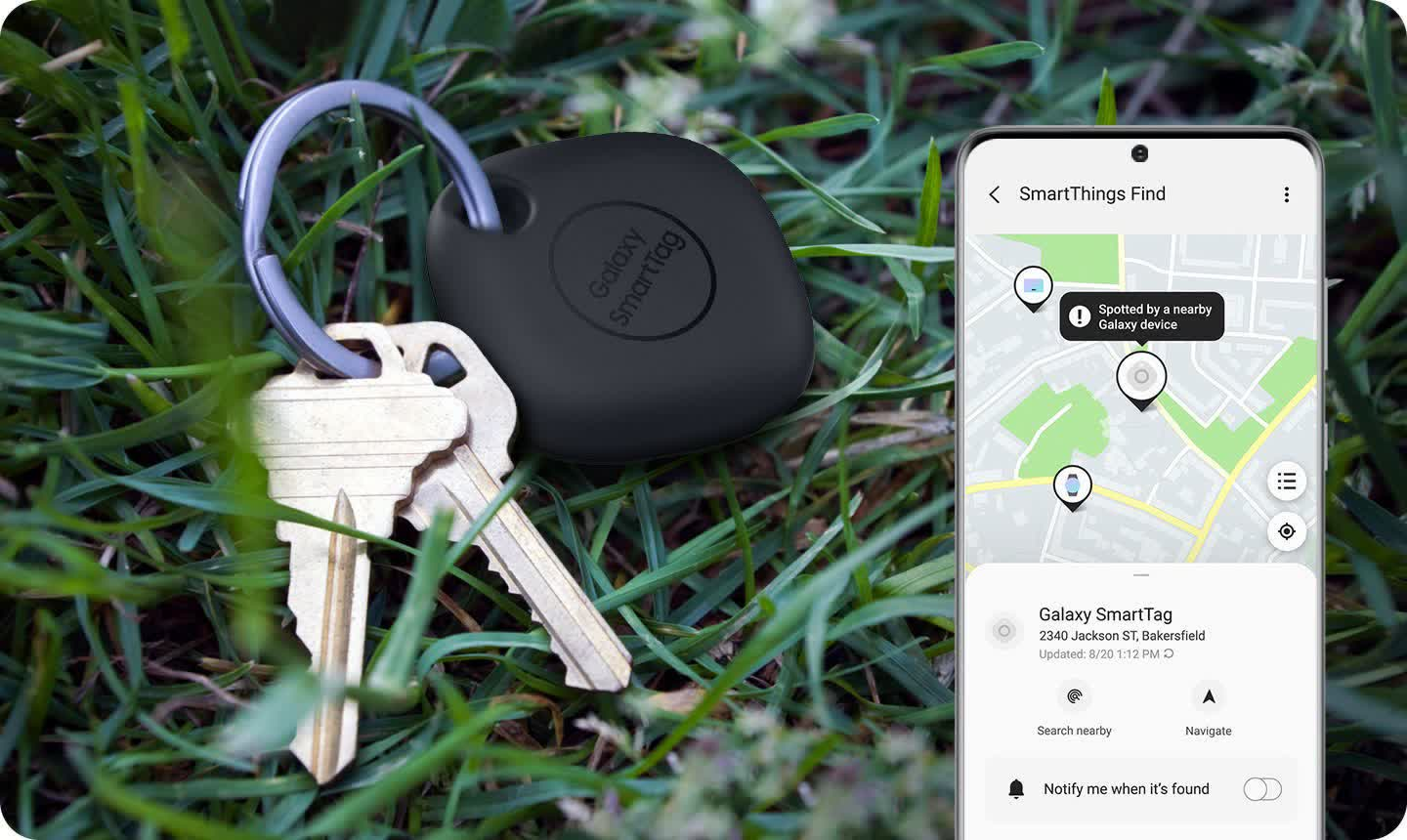 Samsung's $30 Galaxy SmartTag tracker works like Tile's but only with Galaxy phones