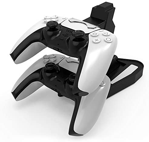 PS5 Controller Charger, Playstation 5 PS5 Controller Charging Docking Station Stand, Fast Charging Station & LED Indicator for Sony DUALSHOCK PS5 Controller