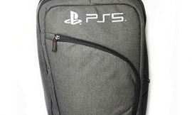 PS5 Case Travel Backpack Storage Carrying Case Shoulder Bag for PlayStation 5 PS5 Console Controllers