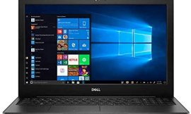 Dell Inspiron 15.6 FHD Touchscreen Truelife LED-Backlit Display Laptop   10th Gen Intel Core i7-1065G7   12GB RAM   1TB HDD   WiFi   Bluetooth   Windows 10 Home   Black   with Accessory Bundle