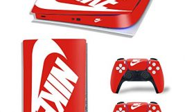 PS5 Digital Version Console and Controllers Skin Vinyl Sticker Decal Cover for PlayStation 5 Console and Controllers -Shoebox