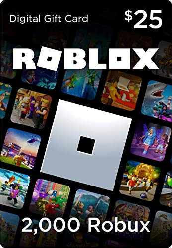 Roblox Gift Card – 2000 Robux [Includes Exclusive Virtual Item] [Online Game Code]