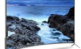 Curved Smart TV, 55/60 Inch LCD TV Hotel Home Ultra HD Internet TV Nano Cell TV with Built-in Speakers