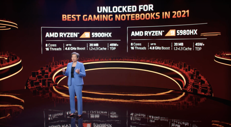 AMD claims new Ryzen 5000 mobile CPUs best Intel for gaming, content creation