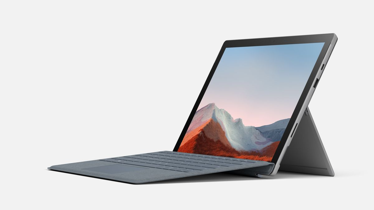 Microsoft's new Surface Pro 7 Plus has a bigger battery, removable SSD, and LTE