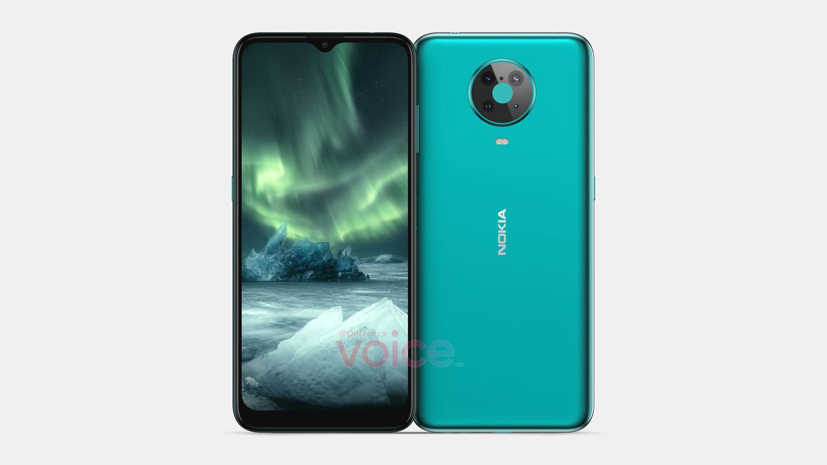 Successor to HMD's Nokia 6.2 leaks with side-mounted fingerprint sensor