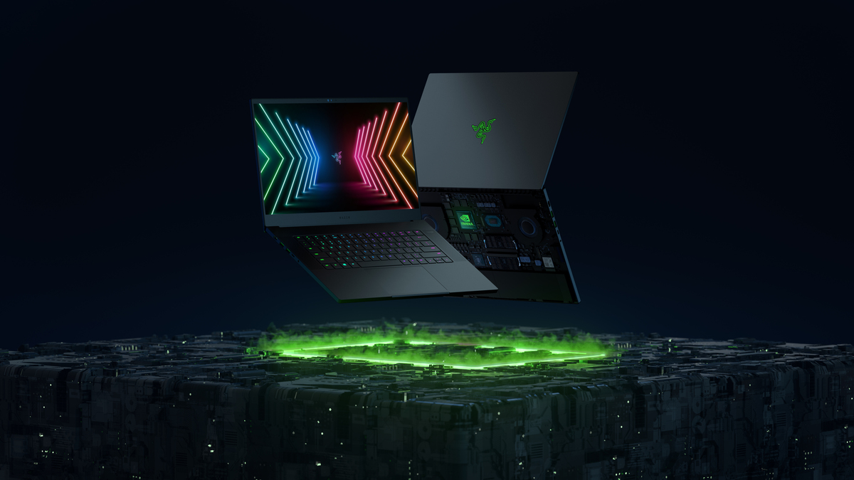 Overhauled Razer Blade laptops pair Nvidia's new GPUs with blisteringly fast displays