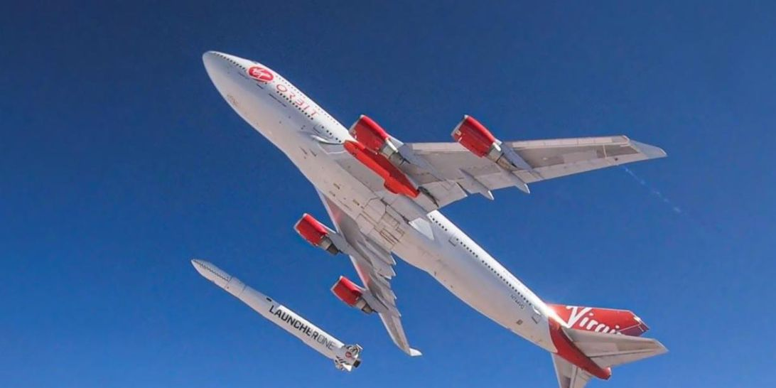 Virgin Orbit will attempt to drop and ignite a rocket in mid-air Sunday