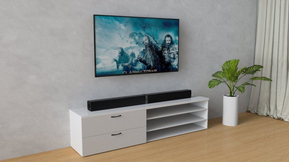 Cowin's $80 Sound Bar Can Split in Half for Surround Sound – Review Geek