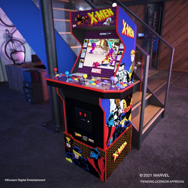 Arcade1Up Announces New Cabinets For X-Men, Dragon's Lair, Killer Instinct, And More
