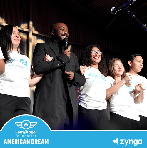 Zynga and Will.i.am will help raise $5 million for education