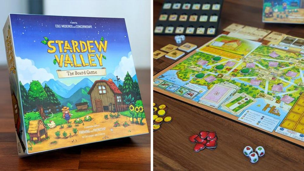 The New 'Stardew Valley' Board Game Looks Just as Delightful as the Video Game – Review Geek