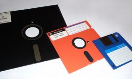 You've probably seen a 3.5-inch floppy disk, but do you know the dimensions of the technology's first iteration?