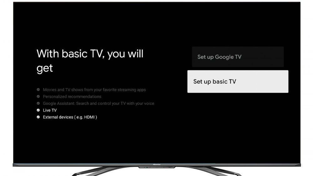 "Google TV's ""Basic"" Mode Will Make Your Smart TV Dumb Again – Review Geek"