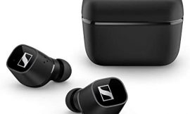 Sennheiser CX 400BT True Wireless Earbuds – Bluetooth In-Ear Headphones for Music and Calls – with Noise Cancellation and Customizable Touch Controls, black