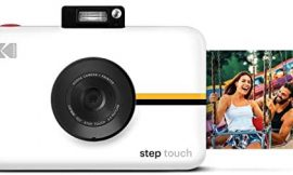 Kodak Step Touch | 13MP Digital Camera & Instant Printer with 3.5 LCD Touchscreen Display, 1080p HD Video – Editing Suite, Bluetooth & Zink Zero Ink Technology | White