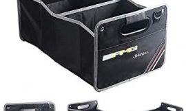 YIKAKA Auto Trunk Organizer Collapsible Cargo Storage Container Black for AMG CLA, CLS Class