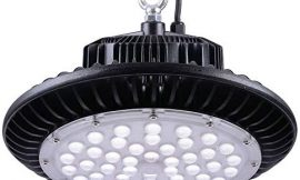 DELight 150W UFO LED High Bay Light Lamp 18000lm 450W HID/HPS Equivalent Commercial Industry Factory Workshop