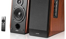 Edifier R1700BTs Active Bluetooth Bookshelf Speakers – 2.0 Wireless Near Field Studio Monitor Speaker – 66w RMS with Subwoofer Line Out