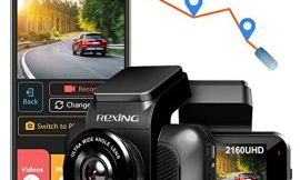 REXING V5 Dash Cam 4K Modular Capabilities 3840×2160@30fps UHD WiFi GPS Car Camera Recorder Night Vision,Loop Recording,Parking Monitor,Supercapacitor,Support 256GB Max,Voice Control (2021)
