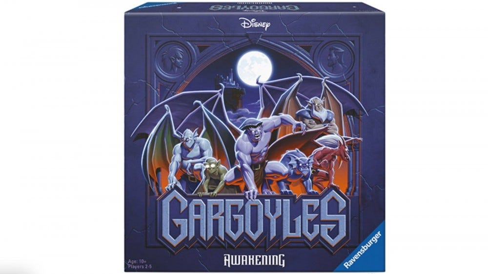 Disney's 'Gargoyles' Lives Again as a New Co-Op Board Game – Review Geek