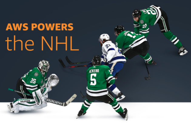 Amazon inks another sports deal as AWS will power NHL's digital transformation and in-game analytics