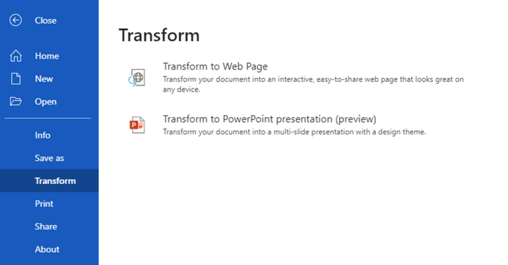 How to turn a Word document into a PowerPoint presentation in seconds