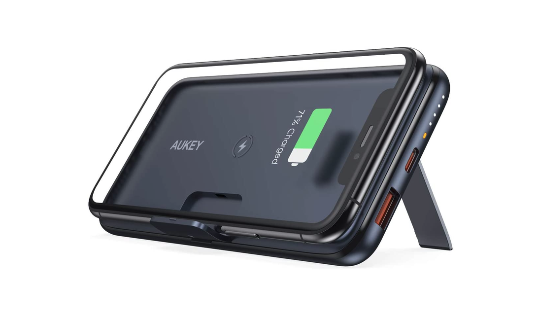 This nifty wireless charging power bank is only $28 for a limited time