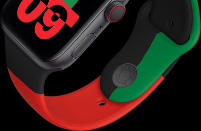 Limited-Edition Black Unity Apple Watch Series 6 and Sport Band Now Available to Order