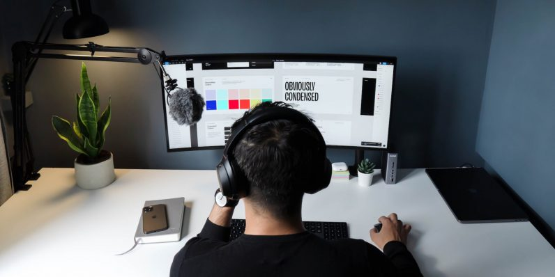 The UI and UX work together in this nine-course training package to make you a web design pro