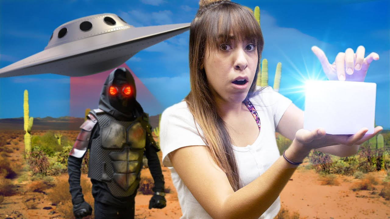We went to a UFO Sighting and FOUND TREASURE! *Caught on Tape*