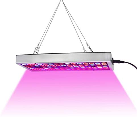 LED Grow Lights, Full Spectrum Grow Lamp with IR & UV LED Plant Lights for Indoor Plants,Micro Greens,Clones,Succulents,Seedlings,Panel Size 12×4.7 inch