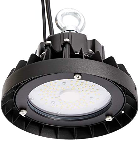 AmazonCommercial LED Value UFO High Bay, 50 Watt, 50000 Hours, Dimmable 0-10V, 6500 Lumens, ETL and DLC Certified, Daylight, 1-Pack