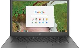 HP Chromebook 14″ Touchscreen Laptop Computer for Student_ Intel Celeron N3350 up to 2.4GHz_ 4GB DDR4 RAM_ 32GB eMMC_ AC WiFi_ Type-C_ Webcam_ Chrome OS_ BROAGE 8GB Flash Stylus_ Online Class Ready