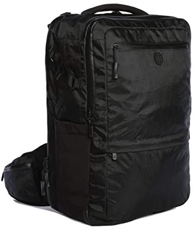 Tortuga Outbreaker 35L – Mid-Size Carry On Travel Backpack with Deluxe Features (Black)
