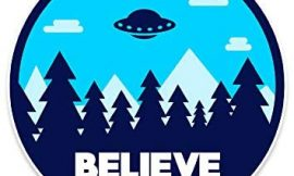 NEO Tactical Gear I Want to Believe UFO X-Files Retro Vinyl Decal Made in The USA