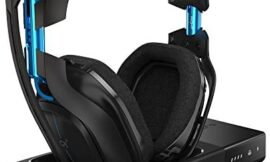 ASTRO Gaming A50 Wireless Dolby Gaming Headset – Black/Blue – PlayStation 4 + PlayStation 5 + PC (Gen 3) (Renewed)