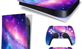 YK MALL PS5 Console PS5 Stickers Vinyl Skin Pattern Decals Skin Sticker for PS5 Playstation 5 Console and 2 Controller (Playstation 5 Digital Edition)