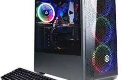CyberpowerPC Gamer Xtreme VR Gaming Desktop, Intel Core i5-10400F Six-Core up to 4.30 GHz, GTX 1660 Super 6GB GDDR6, 32GB RAM, 1TB SSD+2TB HDD, WiFi, Mytrix HDMI Cable, Win 10