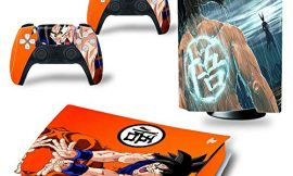 PS5 Disk Console Goku Dragon Ball Z Skin Decal Vinyl Wrap Sticker PlayStation 5 Compatible