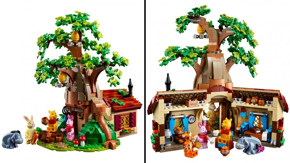 This Winnie the Pooh LEGO Set Lets you Revisit the Hundred Acre Wood – Review Geek